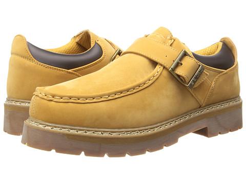 Lugz - Garvin Lo w/ Strap (Golden Wheat/Bark/Gum) Men's Slip on Shoes