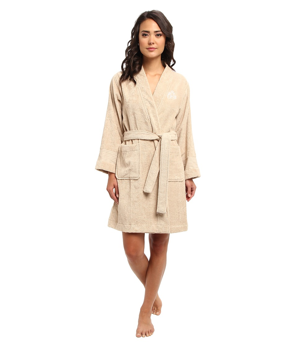 LAUREN Ralph Lauren - Greenwich Woven Terry Robe (Dune) Women's Robe