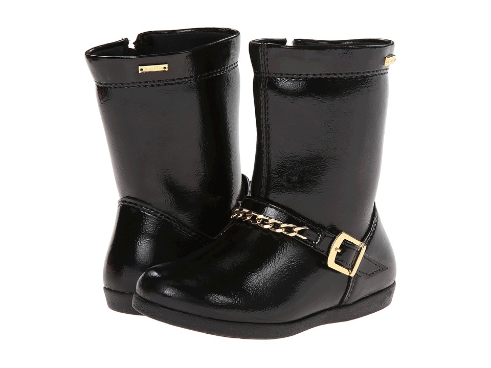 Pampili - Bota Alice 227037 (Toddler/Little Kid) (Black Patent) Girl's Shoes