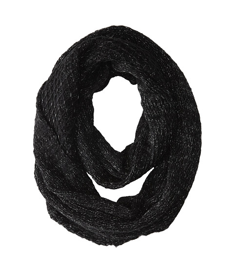 Echo Design - Neo Pop Infinity Ring (Black) Scarves