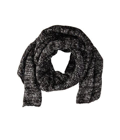 Echo Design - Fuzzy Sparkle Wrap (Black) Scarves