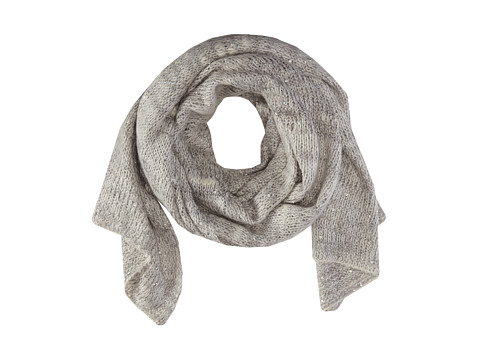 Echo Design - Fuzzy Sparkle Wrap (Cream) Scarves