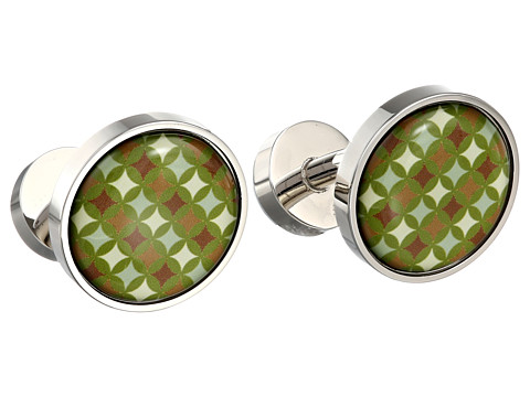 w rkin stiffs - Dry Martini Cufflink (Green) Cuff Links