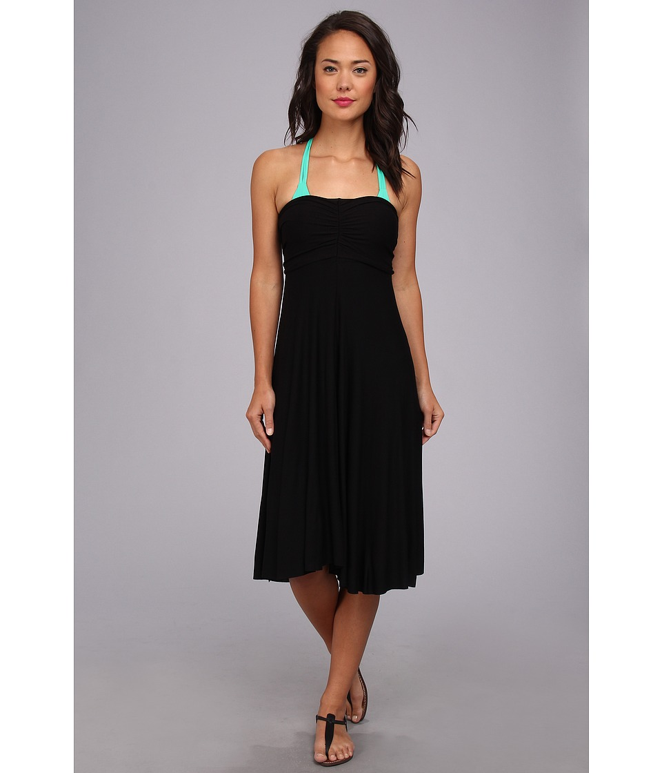 Athena - Finesse Multi Dress Cover-Up (Black) Women's Dress