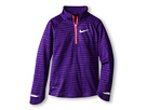 Nike Kids Element Half Zip L/S Top (Little Kids/Big Kids) (Court Purple/Reflective Silver)
