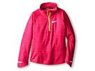 Nike Kids Element Half Zip L/S Top (Little Kids/Big Kids) (Vivid Pink/Reflective Silver)