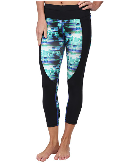 C&C California - Velocity Colorblock Print Skimmer (Pool Blue) Women