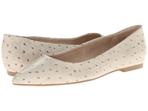 Seychelles - Well-Known (Light Grey Ostrich) Women's Flat Shoes