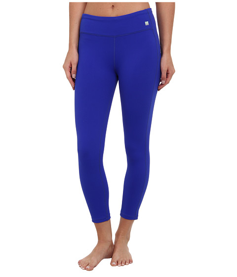 C&C California - Exceed Core Capri (Liquid Cobalt) Women's Casual Pants