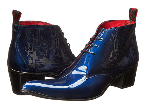 Jeffery-West - Grave Chukka (Blue) Men's Dress Lace-up Boots