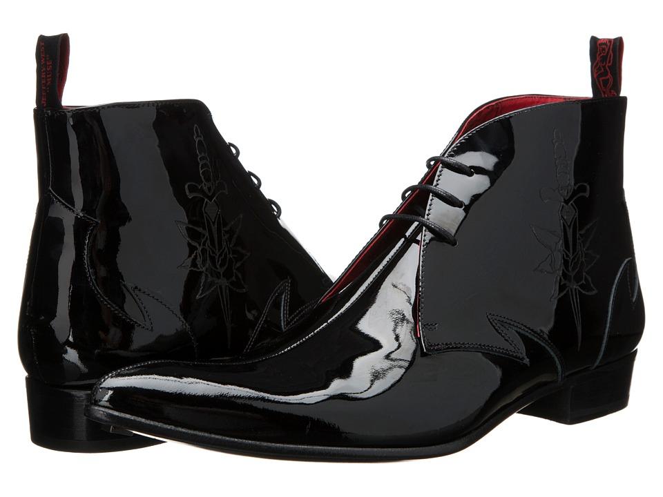 Jeffery-West - Chukka Laser (Black) Men's Shoes
