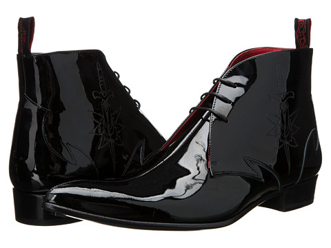Jeffery-West - Chukka Laser (Black) Men's Shoes