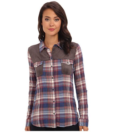 C&C California - Nomadic Button Down Shirt (Dutch Blue) Women