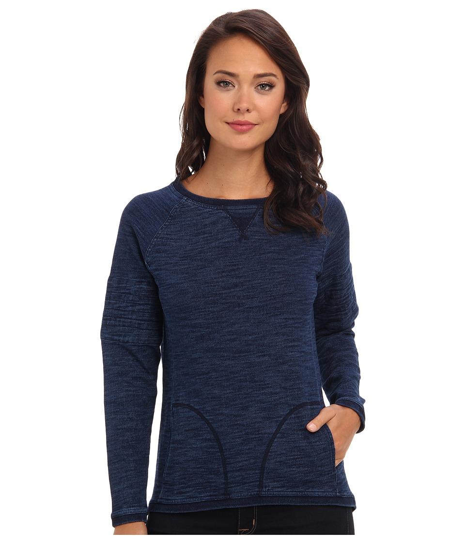 C&C California - Jersey Sweatshirt (Indigo) Women's Sweatshirt