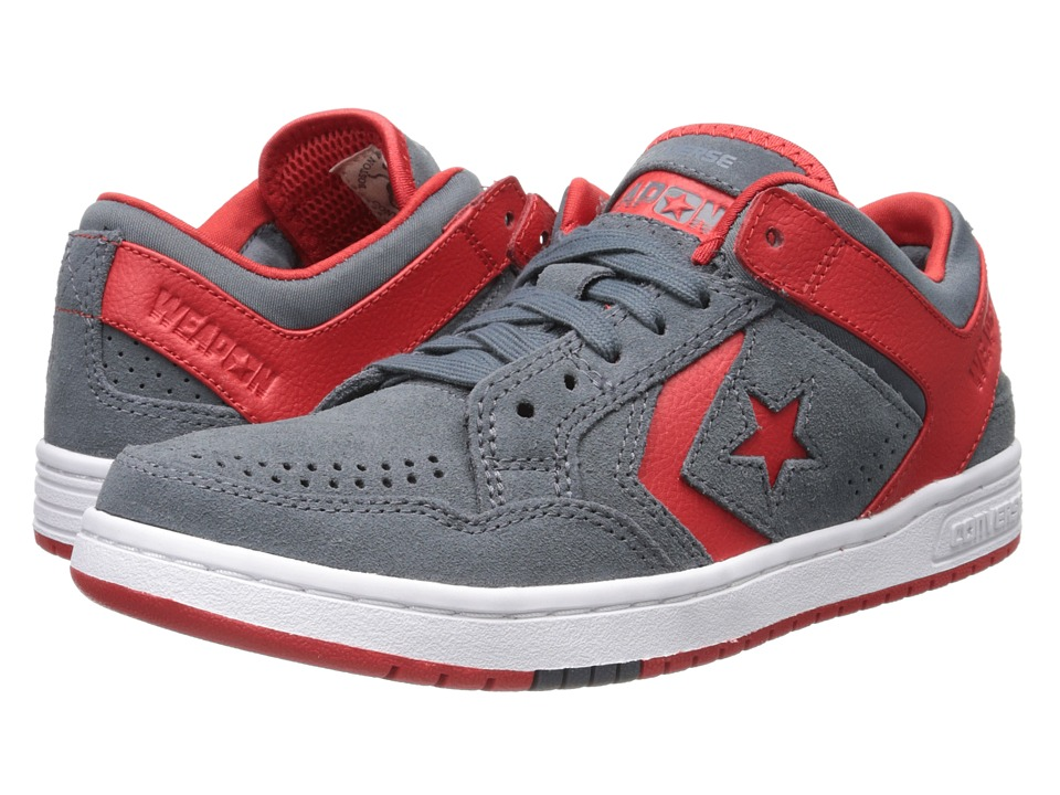 Converse - Weapon Skate Ox (Admiral/Red) Men's Skate Shoes
