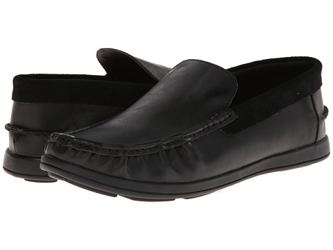 Kenneth Cole Unlisted - Back At It (Black Synthetic) Men's Slip on Shoes