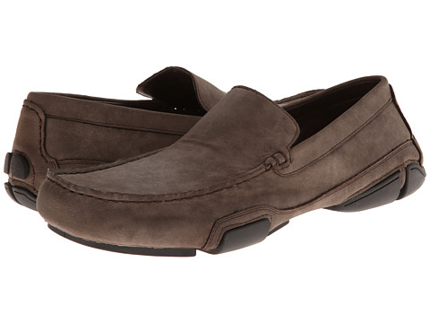 Kenneth Cole Unlisted - To Be Bold (Taupe Synthetic) Men's Slip on Shoes