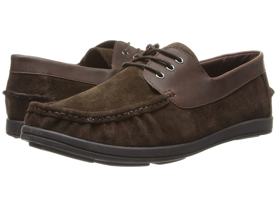 Kenneth Cole Unlisted - Back Up Plan (Brown Suede) Men's Lace up casual Shoes