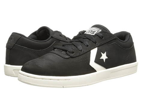 Converse - KA-II Ox (Black/Parchment) Skate Shoes