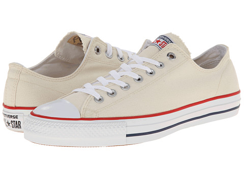 Converse - Ctas Pro Ox (Natural/White/Red) Lace up casual Shoes