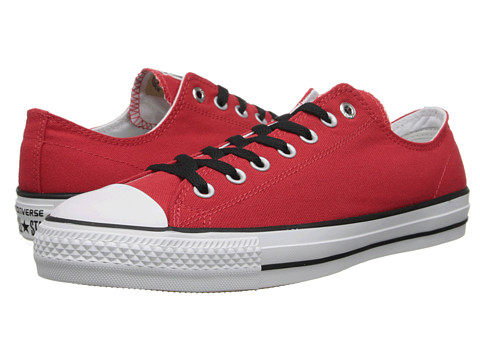 Converse - Ctas Pro Ox (Red/White/Black) Lace up casual Shoes