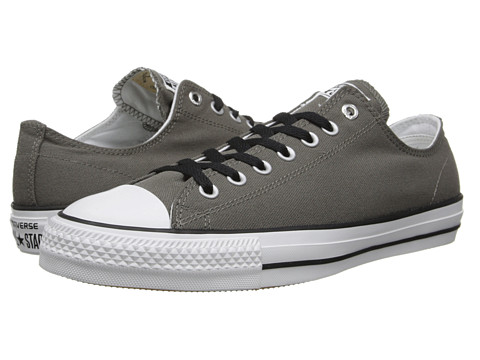 Converse - Ctas Pro Ox (Gray/White) Lace up casual Shoes