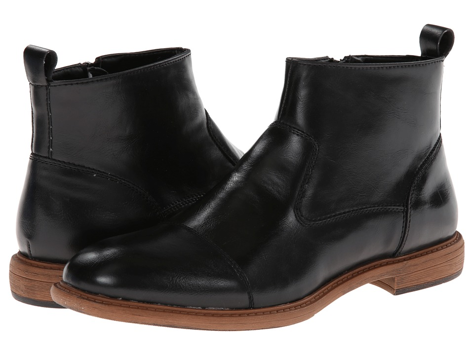 Kenneth Cole Unlisted - Need 2 Be (Black Synthetic) Men's Pull-on Boots