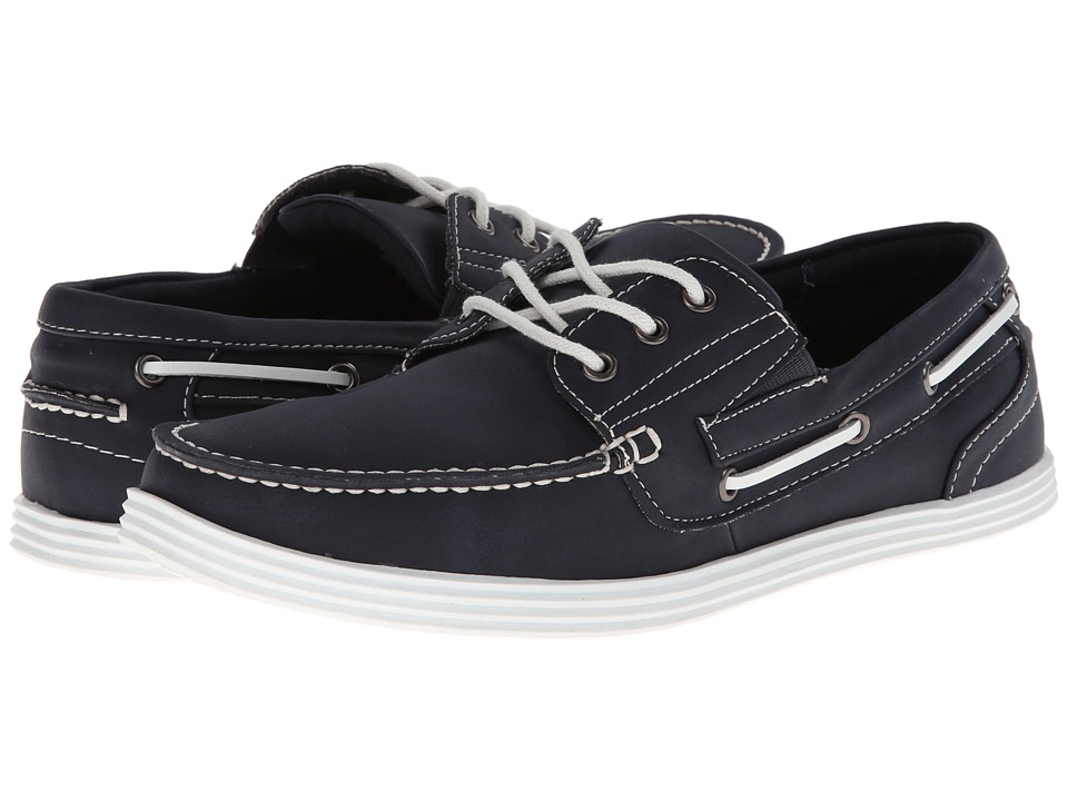 Kenneth Cole Unlisted - Boat-ing License (Navy Nubuck) Men's Lace up casual Shoes