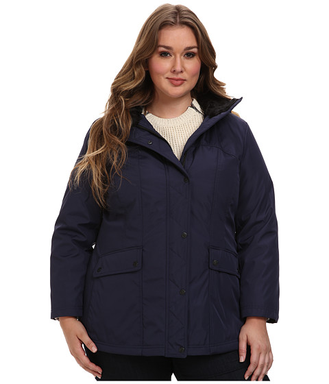 Jessica Simpson - Plus Size JOFWP841 Coat (Navy) Women