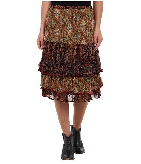 Double D Ranchwear - Sweetbird Short Skirt (Multi) Women