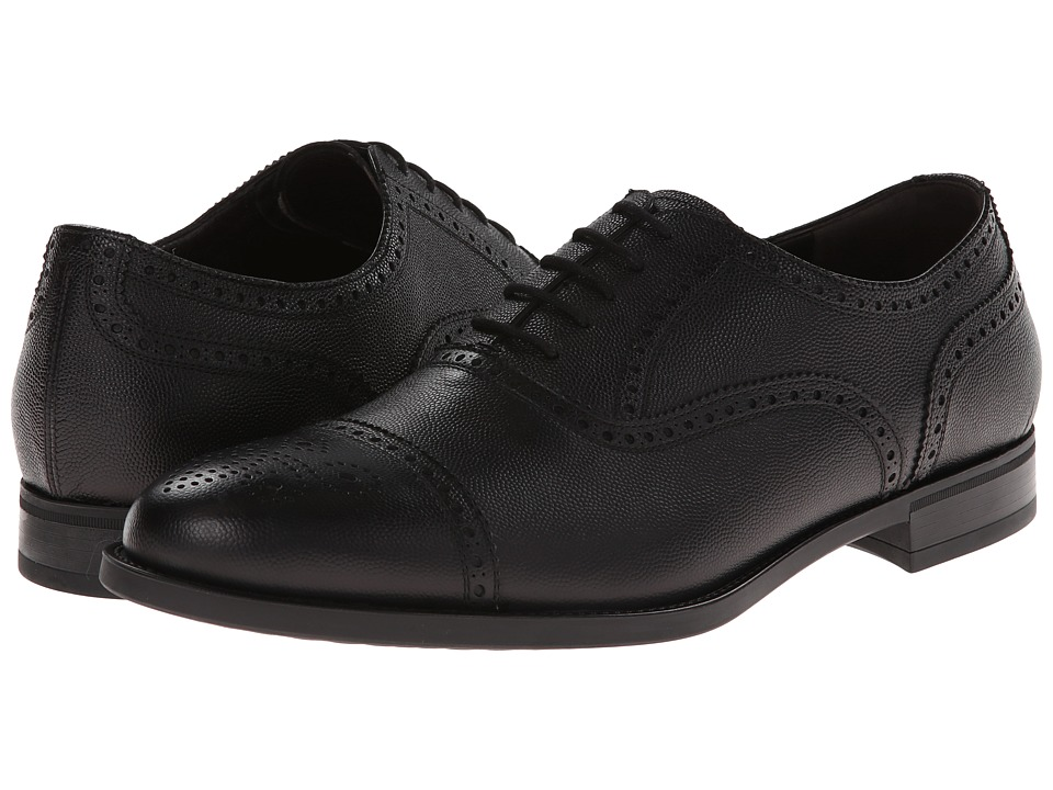 Fratelli Rossetti - Oxford 44979 (Black) Men's Lace up casual Shoes