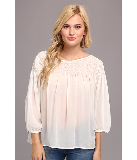 KAS New York - Gemma Blouse (White) Women