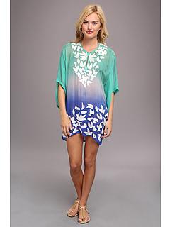 SALE! $89.99 - Save $86 on KAS New York Sheri Silk Tunic (Ombre) Apparel - 48.87% OFF $176.00