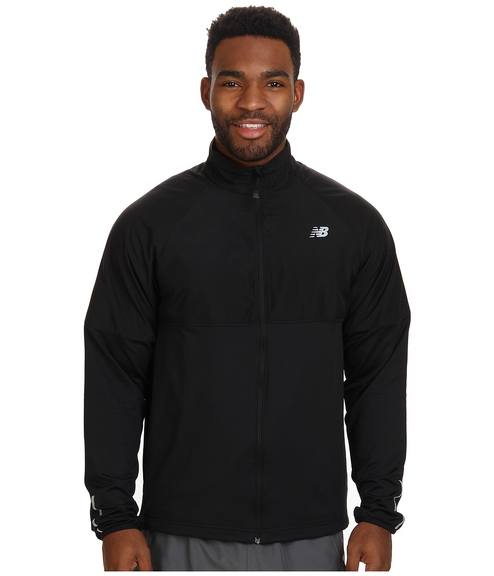 New Balance - Speed Jacket (Black) Men