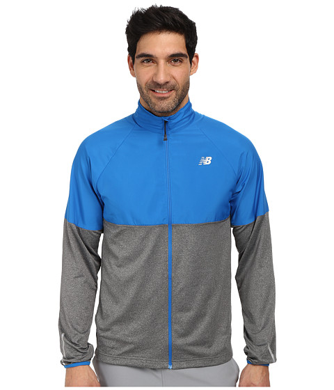New Balance - Speed Jacket (Laser Blue) Men's Coat