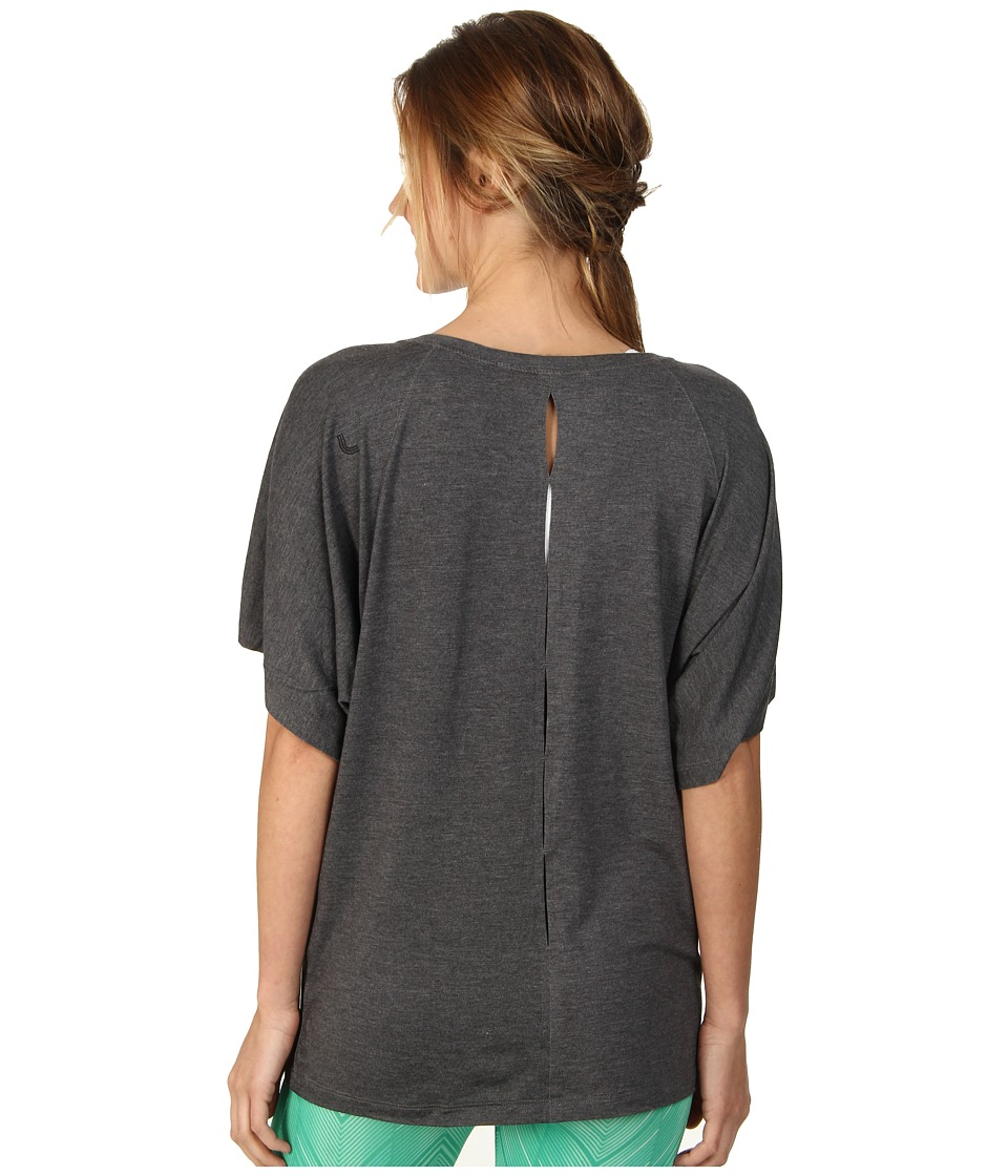 Lole - Audrey 3 Top (Dark Charcoal Heather) Women's T Shirt
