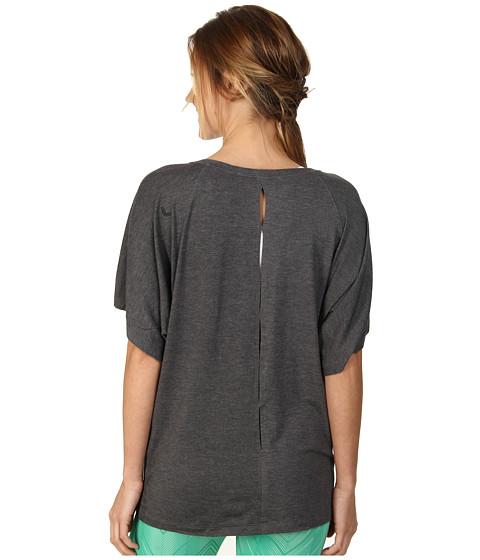 Lole - Audrey 3 Top (Dark Charcoal Heather) Women's T Shirt