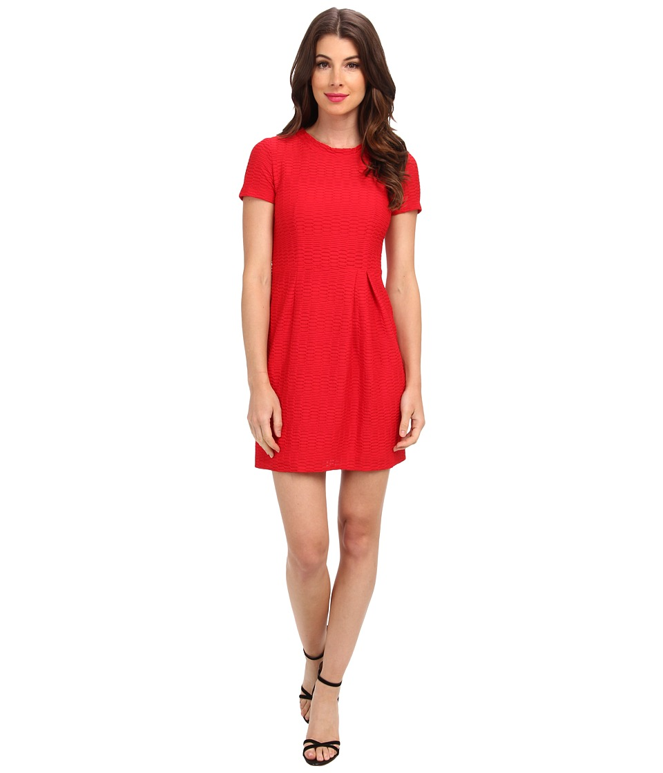 Nanette Lepore Cliff-Hanger Dress (Scarlet) Women