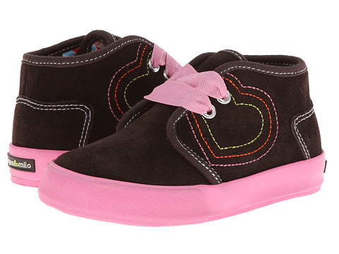 Morgan&Milo Kids - Carly Chukka (Toddler/Little Kid) (Semi-Sweet Chocolate) Girl's Shoes