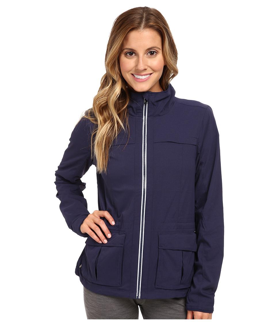 Lole - Postcard Zip Jacket (Amalfi Blue) Women's Coat