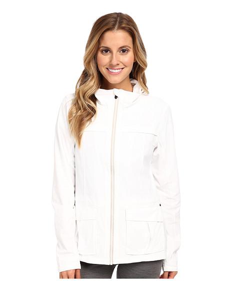 Lole - Postcard Zip Jacket (White) Women's Coat