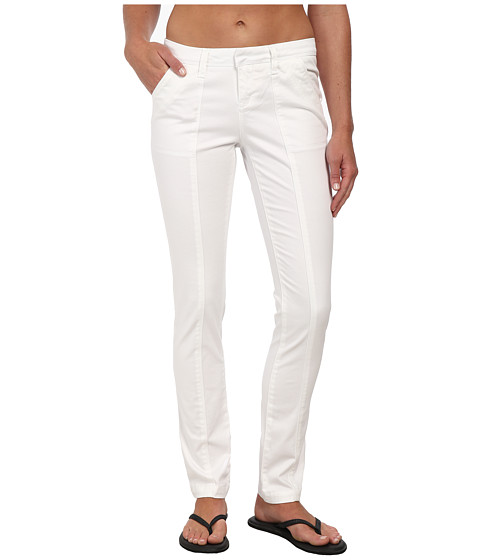 Lole - Juno Mid Rise Pant (White) Women's Casual Pants