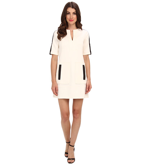 Nanette Lepore - Academic Shift (White) Women's Dress
