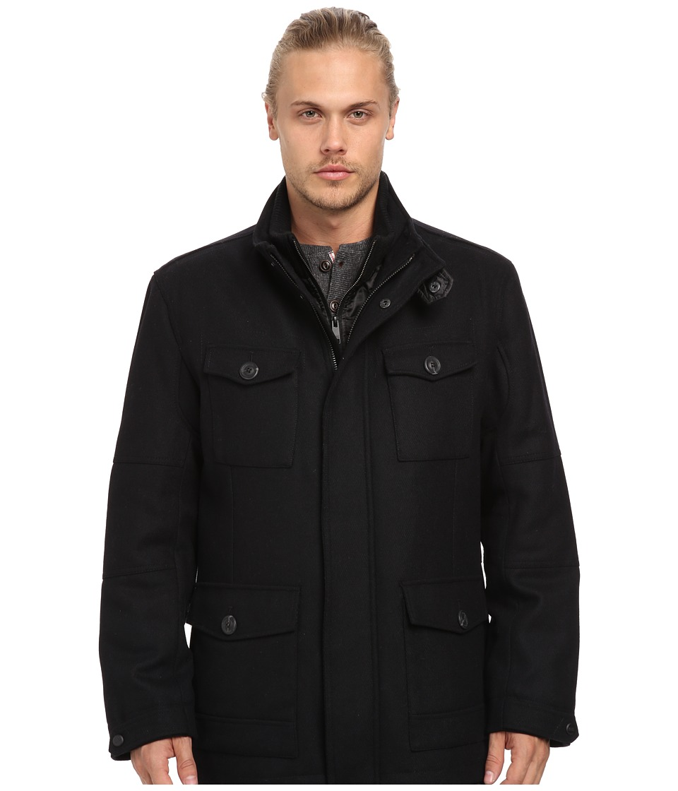 Marc New York by Andrew Marc - Travis Coat (Black) Men's Coat