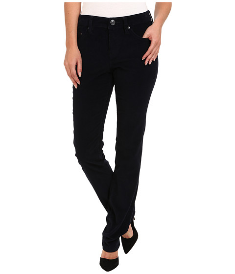 Jag Jeans - Rudy Mid Straight Pinwale Cord (Black Iris) Women's Casual Pants