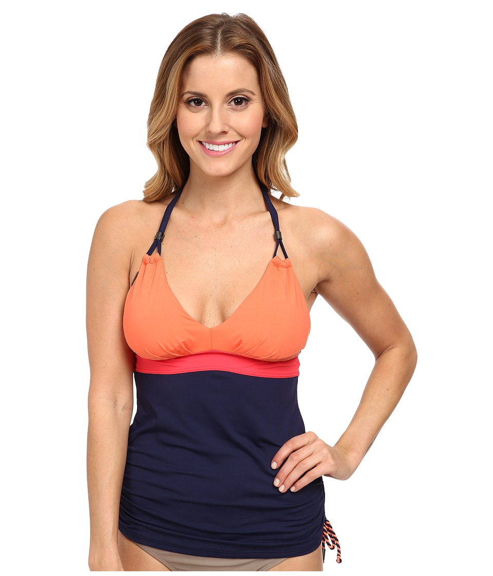Lole Jamaica Tankini Top (Amalfi Blue) Women