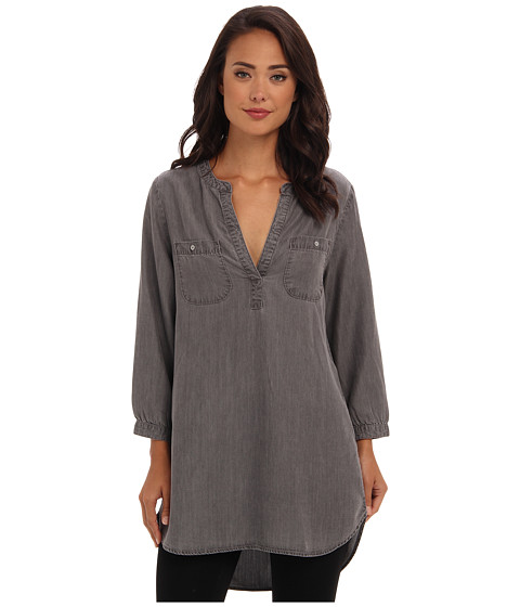 Jag Jeans - Noah Tunic Relaxed Fit (Dove Grey) Women's Blouse