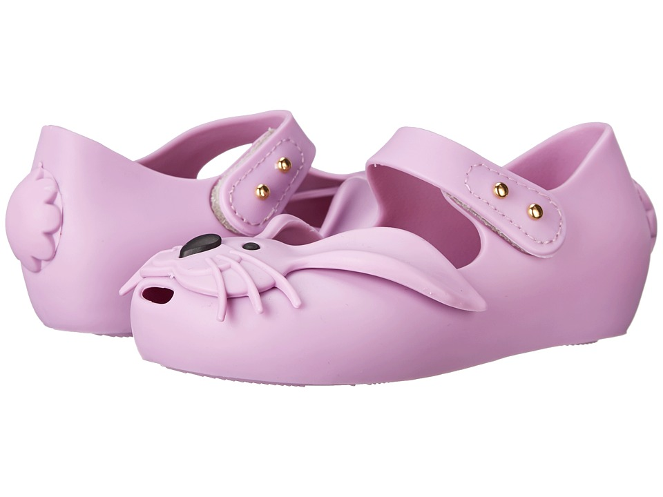 Mini Melissa - Ultragirl Rabbit (Toddler) (Purple) Girls Shoes
