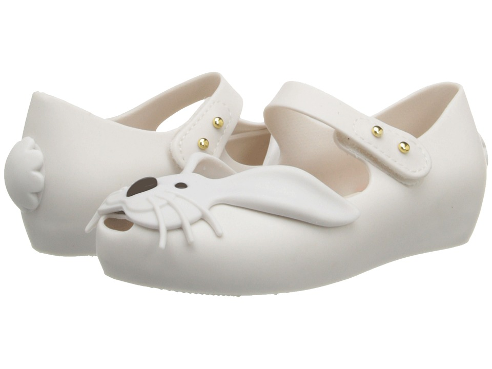 Mini Melissa - Ultragirl Rabbit (Toddler) (White) Girls Shoes