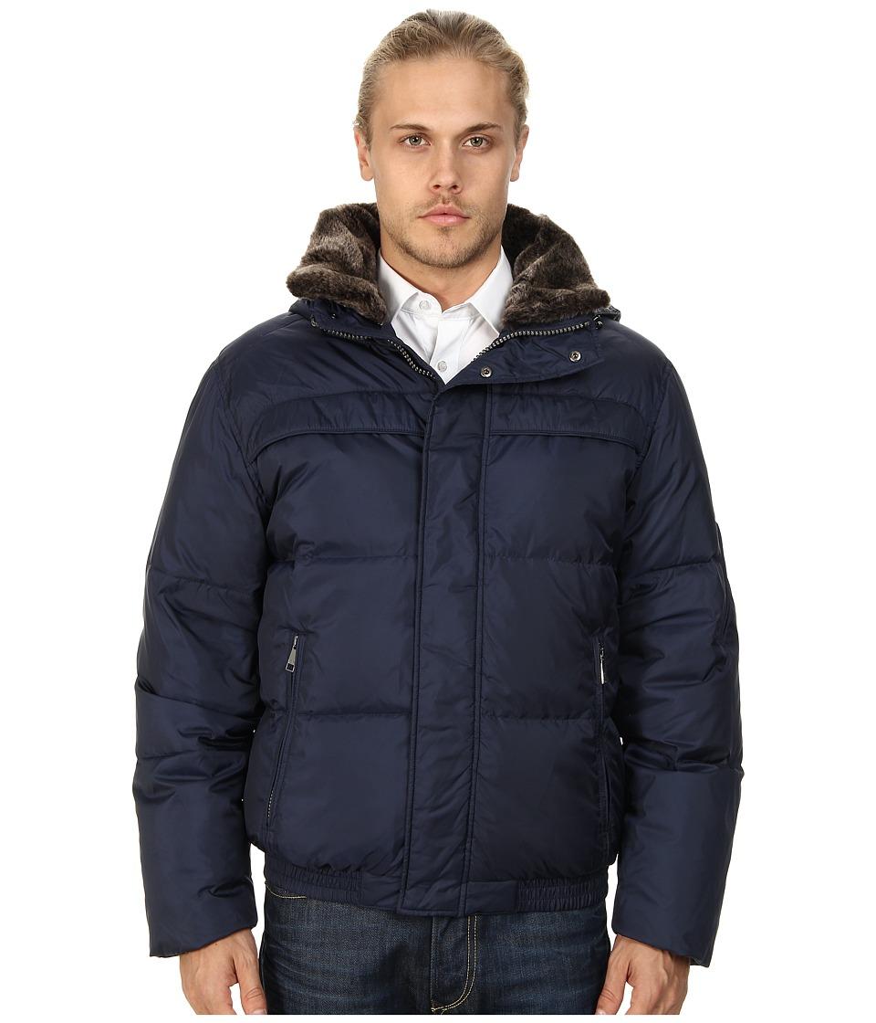 Marc New York by Andrew Marc - Fauxmula Down Jacket (Indigo) Men's Coat